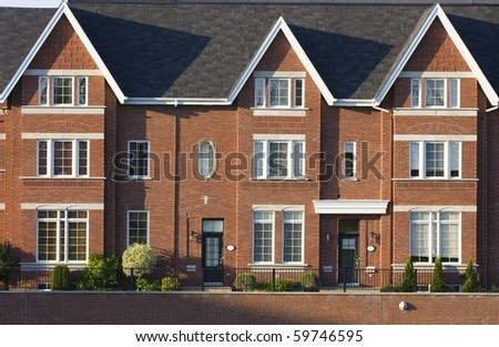 Condominium houses