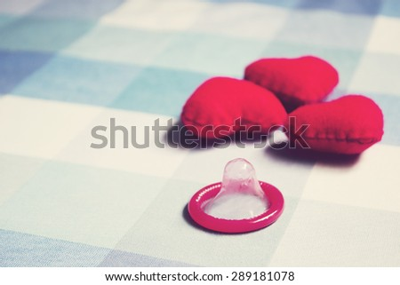Condoms - stock photo