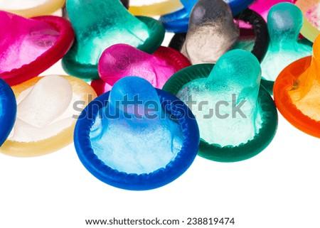 condoms for prevention - stock photo