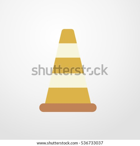 cone icon illustration isolated sign symbol
