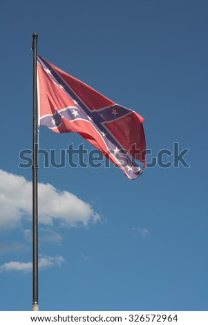 Confederate Flag as Symbol of the American Civil War