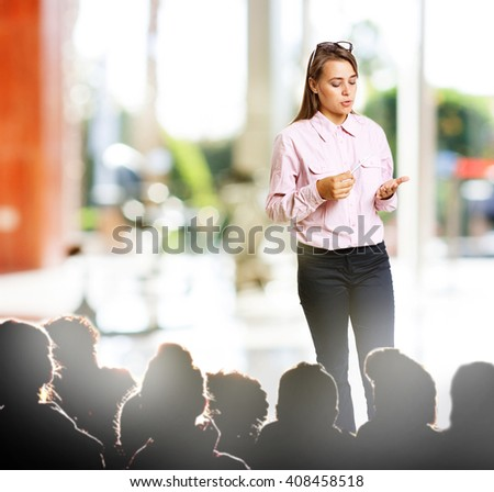 Conference Training Planning Learning - stock photo