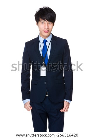 Confident and friendly business  - stock photo
