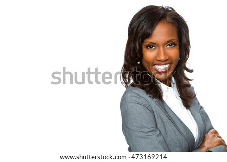 Confident Mature African American Businesswoman