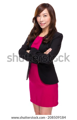 Confident senior buinesswoman - stock photo