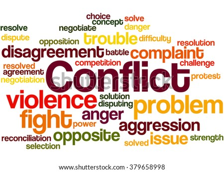 What is another word for conflict - WordHippo