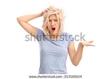 Confused Girls Stock Images Royalty Free