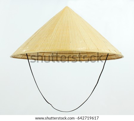Conical Hat Worn in Vietnam