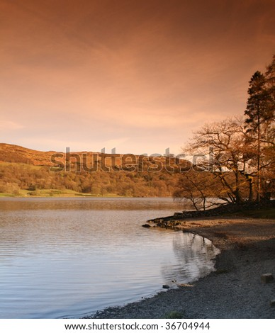 Coniston Water, Lake District, Cumbria, England