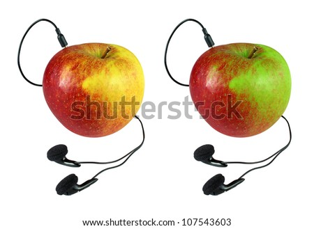 Connected apple