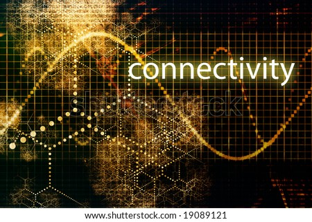 Connectivity Abstract Technology Business Concept Wallpaper Background