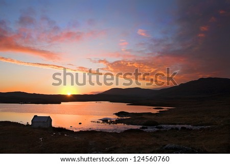 Connemara Ireland Sunset