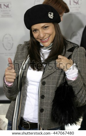 Constance Marie at the Los Angeles premiere of 'The Polar Express' held at the Grauman's Chinese Theater in Hollywood, USA on November 7, 2004.