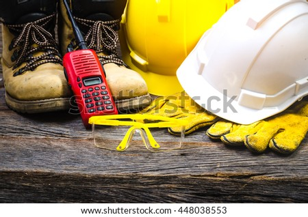 construction and safety concept