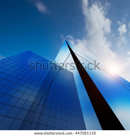 Construction architecture. Concept 3d rendering - stock photo