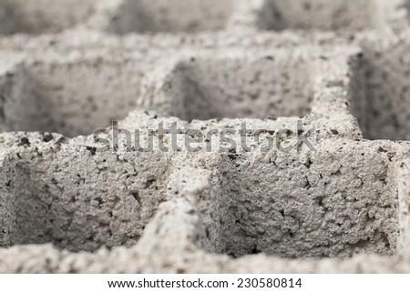 construction blocks closeup - stock photo