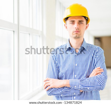 Construction Contractor Businessman