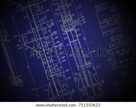 Construction drawing blueprint technical design architectural construction drawing blueprint the technical design the architectural background malvernweather