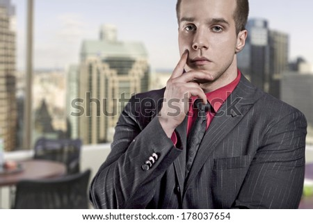 Construction engineer on site - stock photo