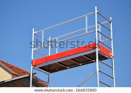 Construction frame - stock photo