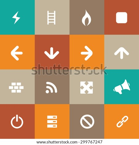 construction icons universal set for web and mobile
