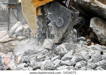 Construction machinery - stock photo