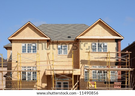 Construction of a large home