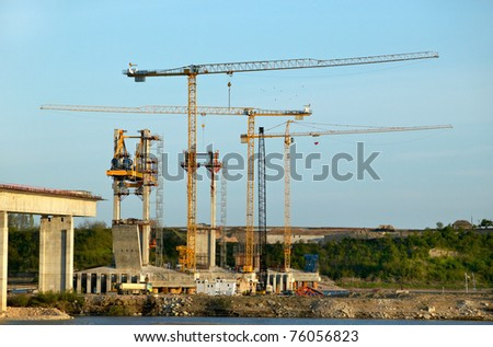 Construction of a new bridge over the river Danube, Bulgarian