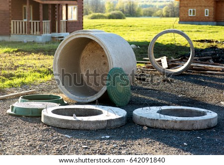Cesspool stock images royalty free images vectors for Cottage septic systems