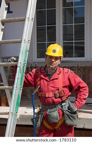 construction people Perov - stock photo