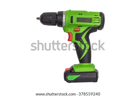 construction puncher isolated on a white background - stock photo