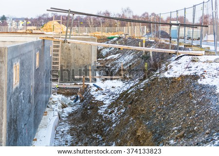 Superior Construction, Structural Work And Foundations With Excavation Of A Basement  Floor.