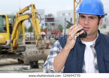 Construction Technician - stock photo
