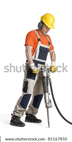 Pneumatic Drill Stock Photos, Images, & Pictures ...  Pneumatic Drill...
