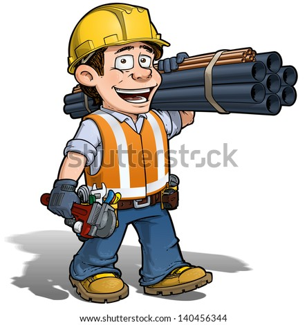 Construction Worker - Plumber