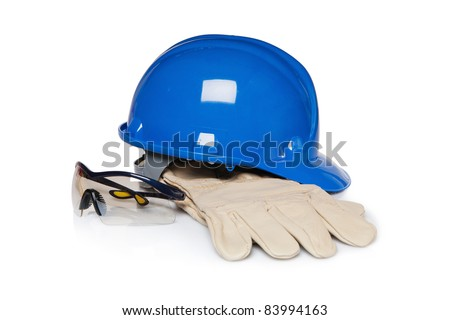 Construction worker protection - stock photo