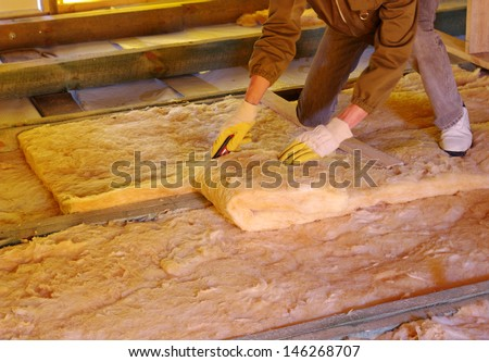 Insulation stock images royalty free images vectors for Wool house insulation