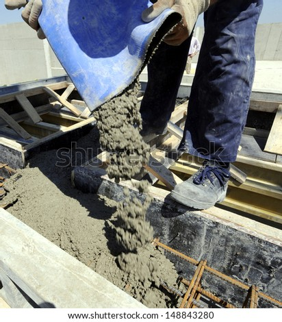 construction works - stock photo