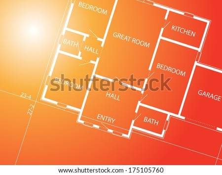 Constructional background  - stock photo
