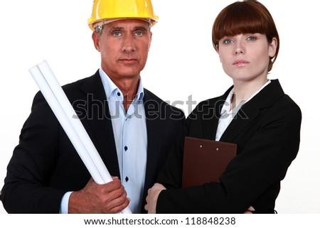 Constructors - stock photo