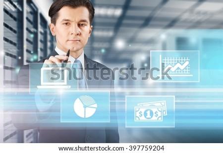 Consultant. - stock photo