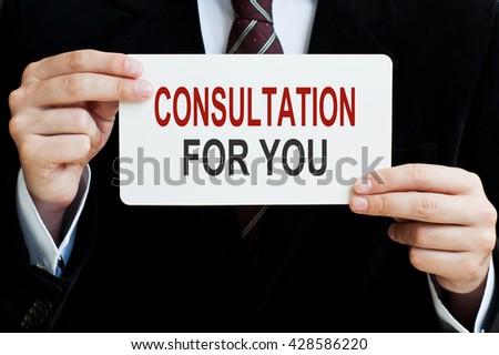 Consultation For You - stock photo