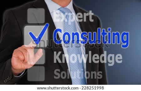 Consulting - Business Concept - stock photo