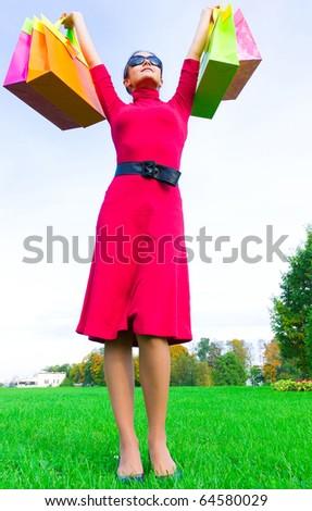 Consumer Shopper Female - stock photo