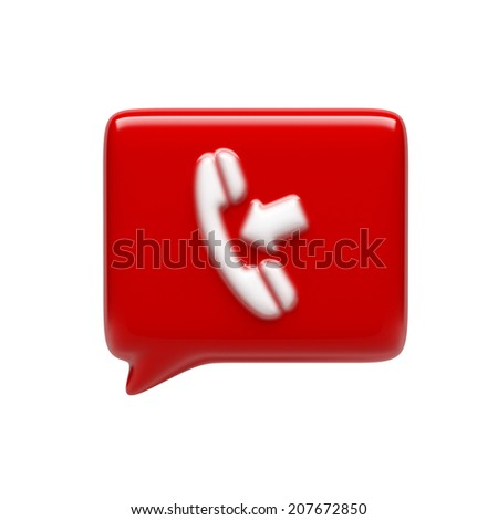 Contact Icon isolated on white background