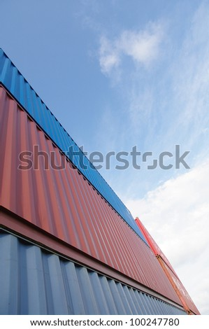 Container - stock photo