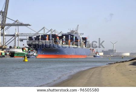 Container Termina - stock photo