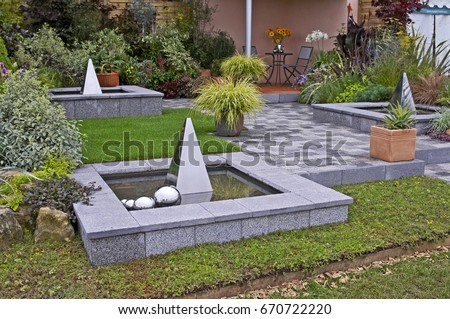 Garden Design Stock Images Royalty Free Images Vectors