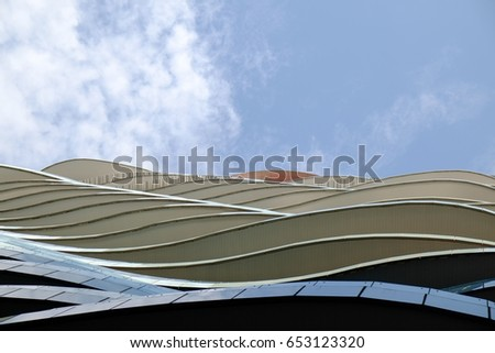 Contemporary Architecture Building at Bangkok Thailand 4