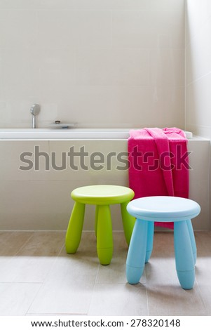 Contemporary designer bathroom renovation with kids decor items & Kids Bathroom Stock Images Royalty-Free Images u0026 Vectors ... islam-shia.org